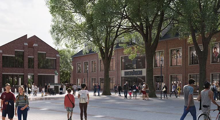 Am 02. Mai 2019 eröffnet das neu gebaute Kaufhaus Berken im Herzen von Ahaus direkt am Rathausplatz.